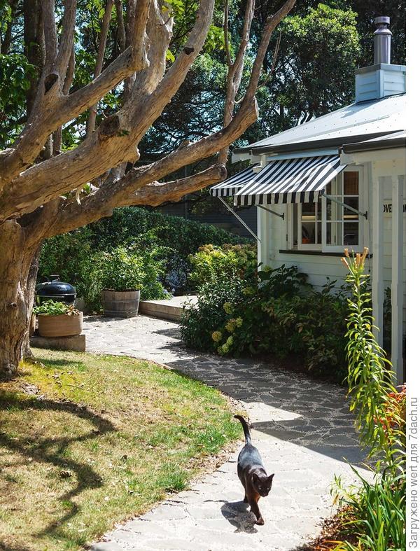Экстерьер дома в Новой Зеландии
