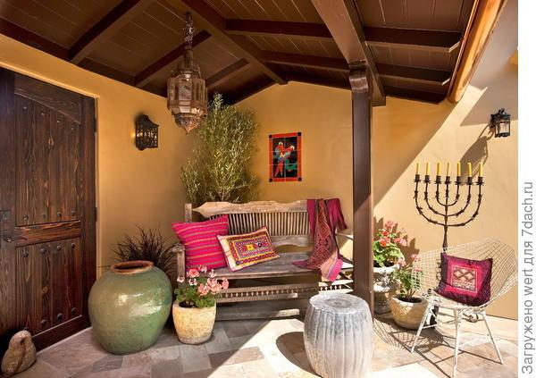 Средиземноморский стиль. Фото с сайта architectureartdesigns.com