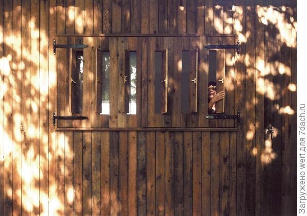 Деревянная дача