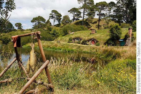 Новозеландские землянки