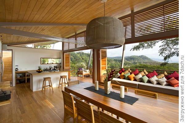 Кухонный остров на даче