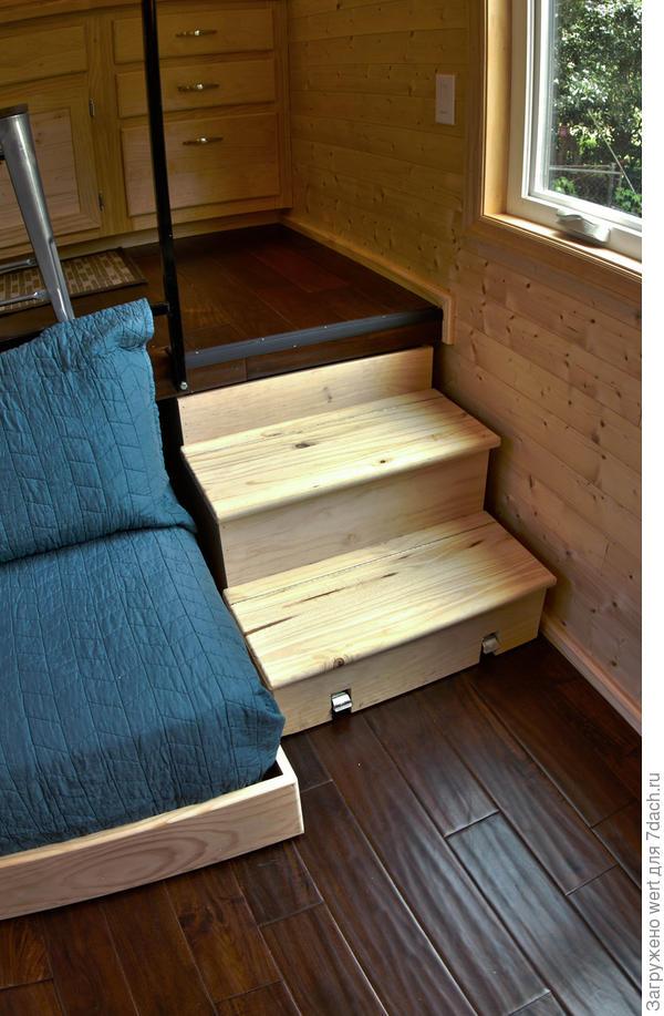 Деревянная дача на колесах