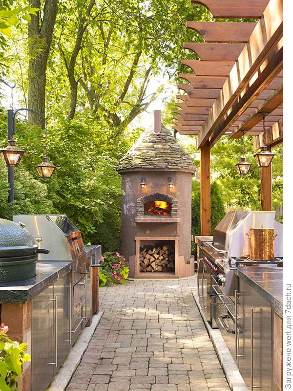 Кухня на свежем воздухе
