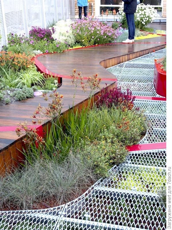 Озеленение крыши по-австралийски