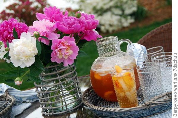 Чаепитие на даче