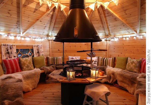 Восхитительный дачный домик