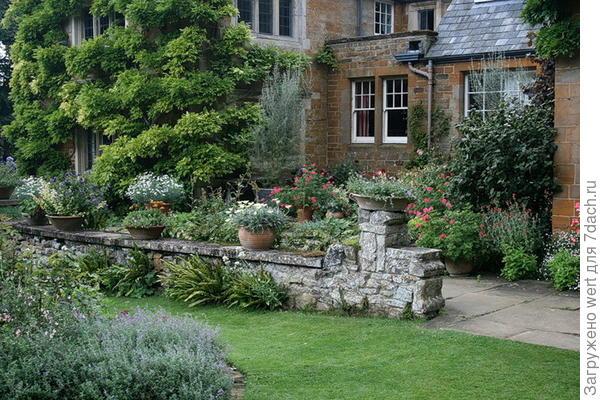 Английский стиль в ландшафтном дизайне  сады Coton Manor