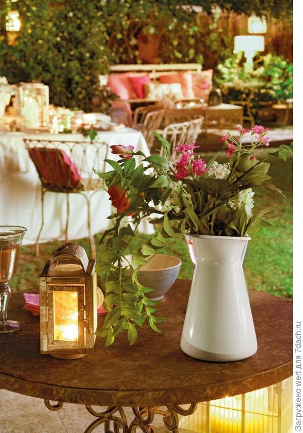 Волшебный вечер в саду