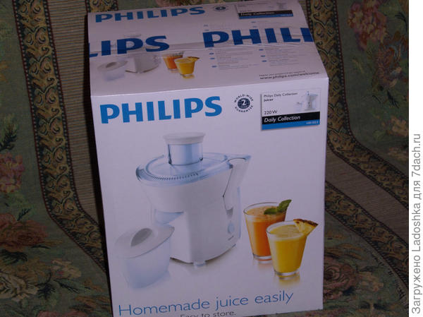 Соковыжималка электрическая Philips HR1823/70