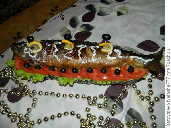 фаршированная рыбка