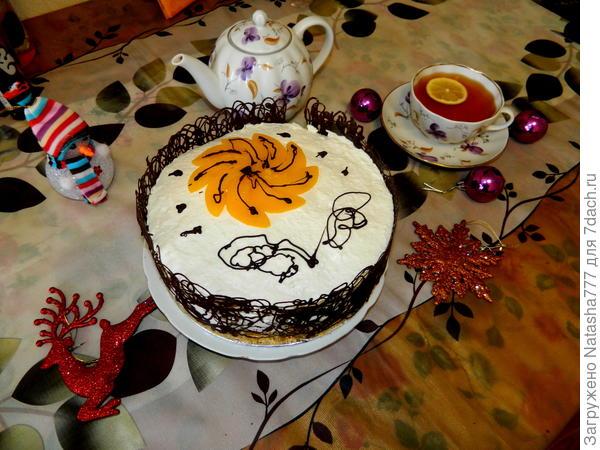 нежный тортик
