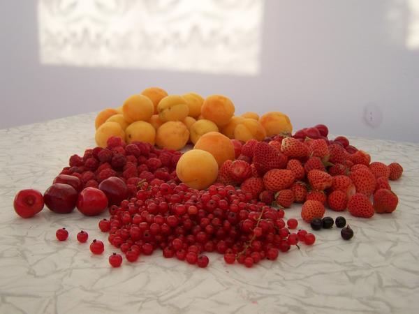 ягодки с огорода