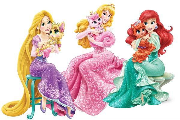 3 принцессы. Интернет, без автора