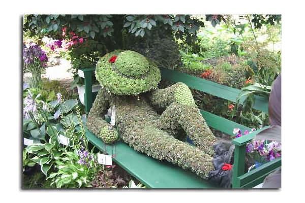 Спящий дачник, фото из недр интернета