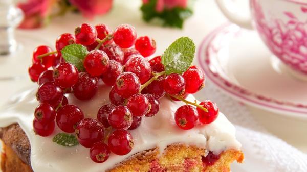 Десерты с замороженными ягодами