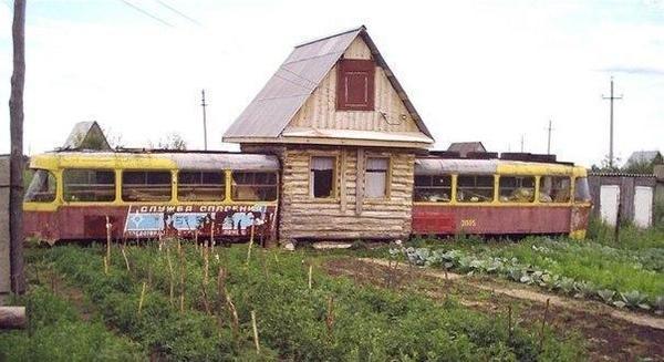 Дачный дом для большой семьи, фото с сайта vk.com