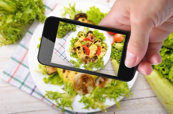 Сфотографируйте готовое блюдо