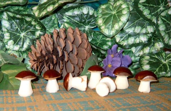 грибочки из каштанов