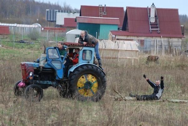Трактор уже ушел... Автор фотографии svetlanarus (Светлана, Всеволожск)