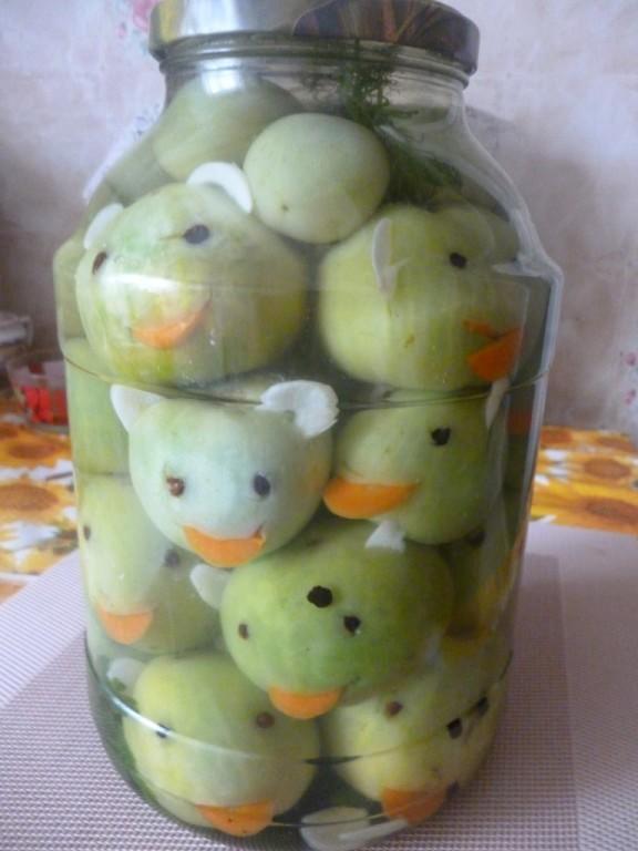 Для маринованных помидоров)) Лягушата. Фото - с provse.forum2x2