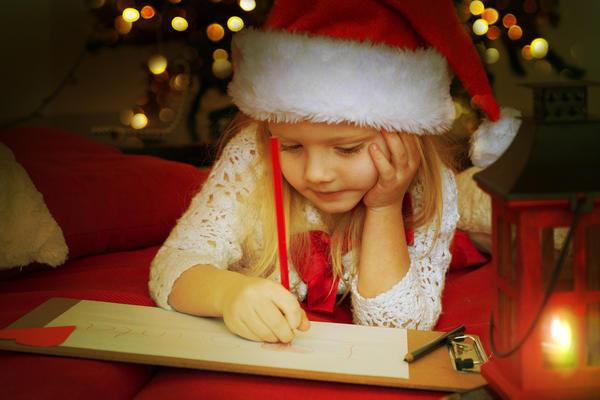 Сел, написал Деду Морозу письмо, положил под елку - и все чин-чинарём... письмо будет прочитано и просьба удовлетворена...