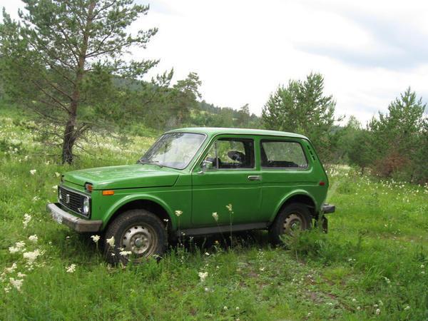 Это не наша машина. Фотография взята с сайта ros-niva.ru Наша была такая же. Она и до сих такая!