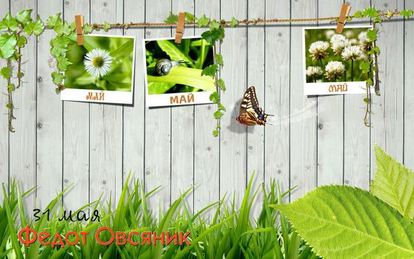 з1 мая - Фёдор Овсяник