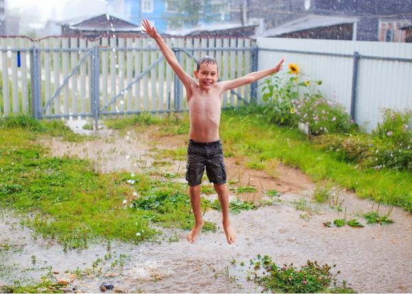 На 7 дач - выходные с дождями