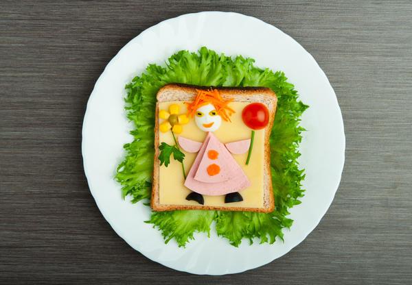Бутерброд для девочки))