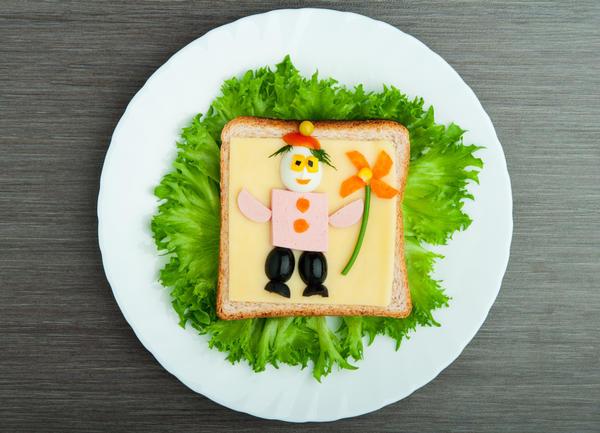 Бутерброд для мальчика))