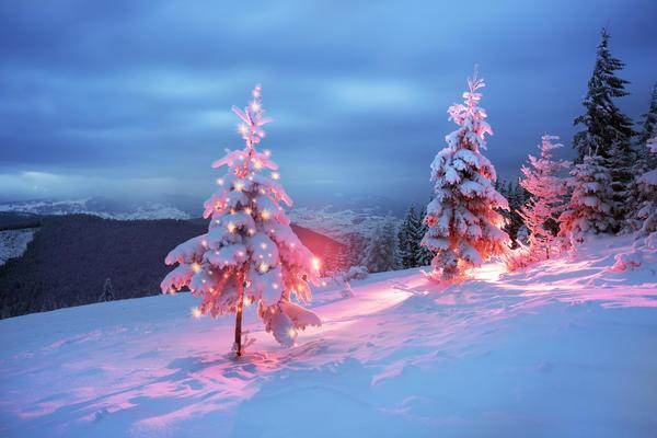 А какая погода была у вас в Новогоднюю ночь? Расскажите!