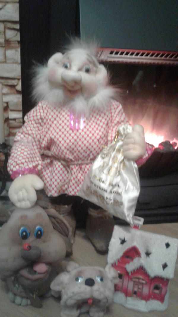 Шишок - чулочная кукла