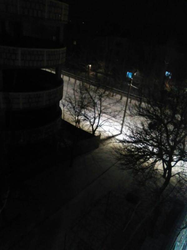 Снег в Рыбнице, фото сделано 20 минут назад...