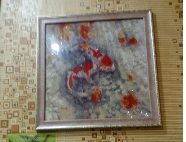 Декор своими руками, или Картина из китайского бисера