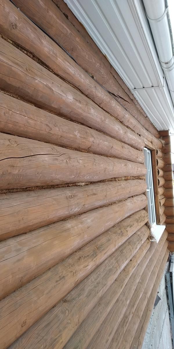 Чем заделать межвенцовые щели в бревенчатом доме?