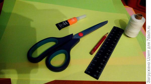 инструменты для изготовления снежинки
