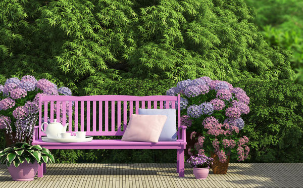Оттенки сиреневого и лилового лучше прочих подходят для тихих мечтаний или уютного отдыха
