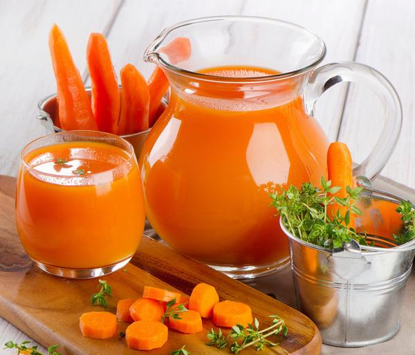 Морковный сок и пюре необыкновенно полезны и вкусны