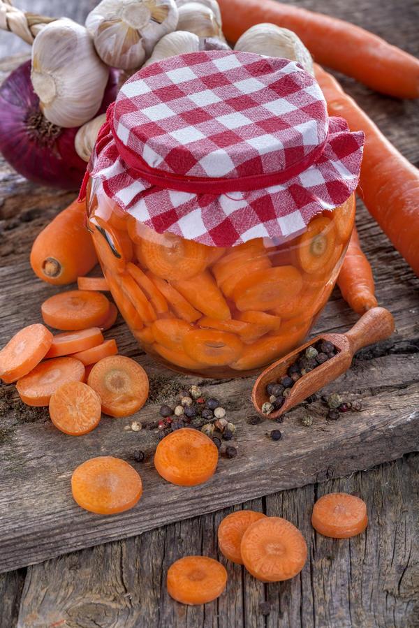 маринованная морковь