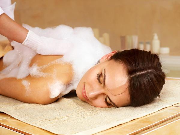 Мыльный массаж - ни с чем не сравнимая вещь!