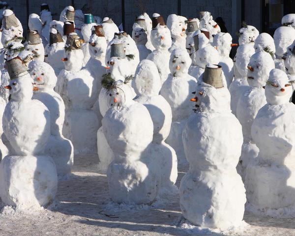 Главное, чтобы снега на всех хватило