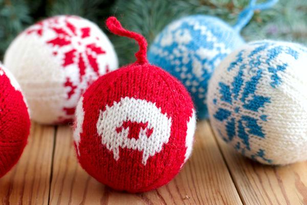 Самыми стильными в этом году будут  вязаные игрушки из овечьей пряжи