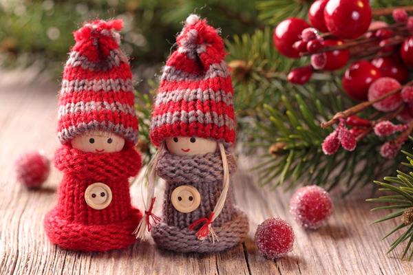 Игрушки к Рождеству