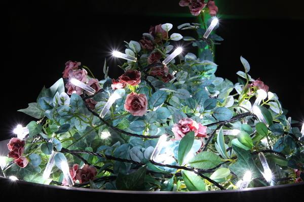 Совмещение контейнеров с освещением