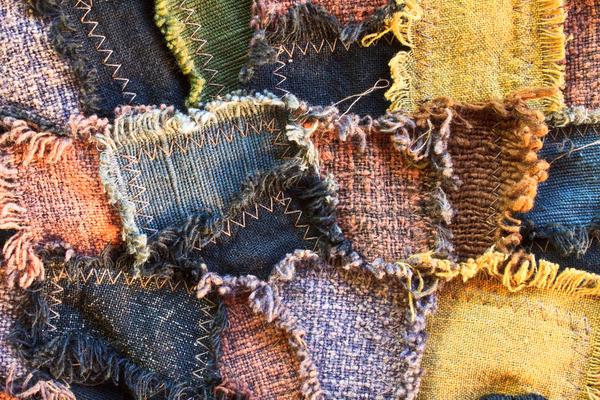 Лапачиха являет собой объемное шитье