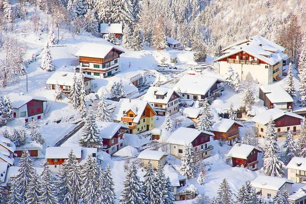 В России интерес к шале значительно возрос благодаря горнолыжному спорту