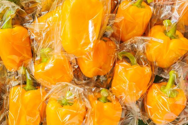 Хранение плодов болгарского перца в полиэтиленовых прозрачных мешочках