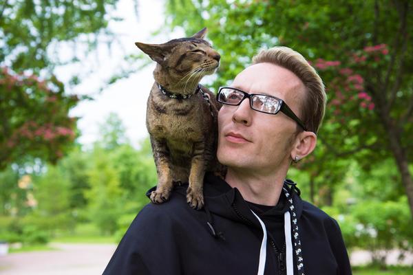 Со временем владельцы домашних животных становятся чем-то похожими на своих любимцев
