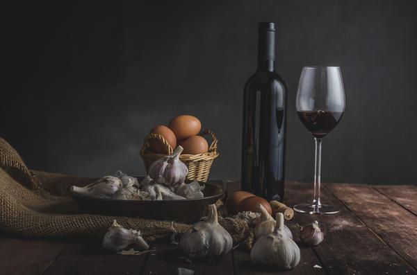 Варенье из чеснока и красного вина