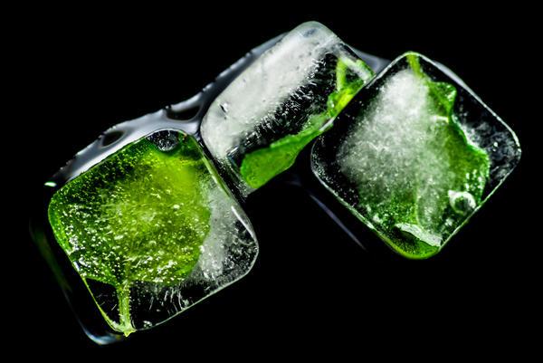 Лёд из мяты
